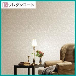 壁紙 のり付き のりつき クロス 国産壁紙 カジュアル 花 フラワー ウレタンコート 表面強化 防か...