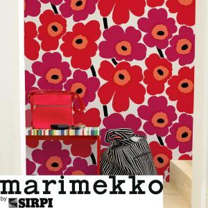 壁紙 輸入壁紙 切売 マリメッコ marimekko UNIKKO ウニッコ 13070 13071...