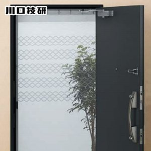 玄関網戸 網戸 川口技研製 M-1__m1|kabegamiyasan