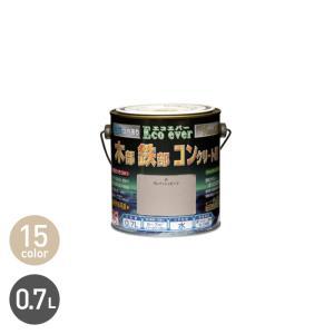 塗料 汚れに強い多用途塗料 水性エコエバー 0.7L*01/45__np-wbee-70-