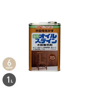 塗料 オイルステイン 木部用着色剤 1L  商品品番* MPL ZKV MHG TEAK WLN W...