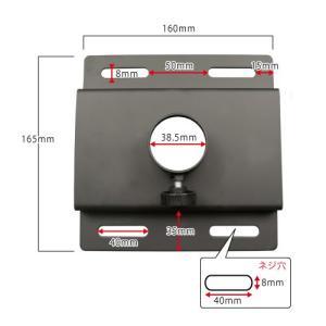 天吊りテレビ金具 金物 TVセッターハング GP102 Mサイズ|kabekake-shop|13
