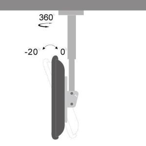 天吊りテレビ金具 金物 TVセッターハング VS28 SSサイズ|kabekake-shop|14