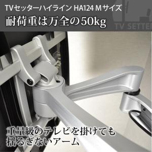 壁掛けテレビ金具 金物 TVセッターハイライン HA124 Mサイズ|kabekake-shop|09