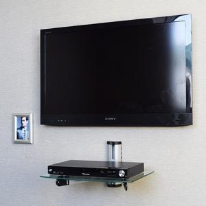 壁掛けAVシェルフ TVセッターシェルフPL111|kabekake-shop|06