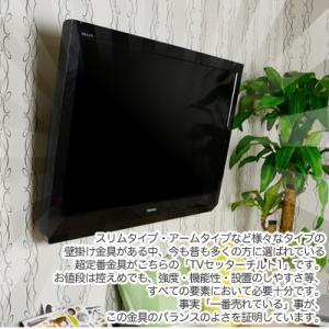 壁掛けテレビ金具 金物 TVセッターチルト1 Mサイズ|kabekake-shop|03