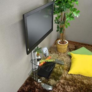 壁寄せテレビ台 壁掛けスタンド TVタワースタンド GP103 Sサイズ|kabekake-shop|05