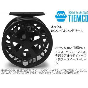 ※ティムコ オラクルSHシングルハンド ブラックIVリール 4930843937866 kabu-kazumi