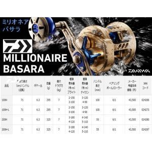 ※ダイワ ミリオネア バサラ 100H MILLIONAIRE BASARA 4960652024266|kabu-kazumi