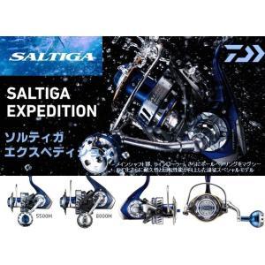 ※ダイワ ソルティガ エクスペディション 5500H DAIWA SALTIGA EXPEDITION 5500H  4960652948272|kabu-kazumi