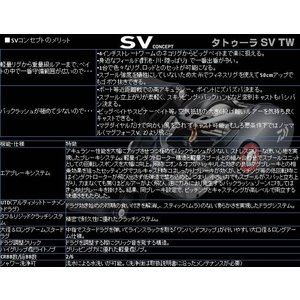 ※17 タトゥーラ SV TW  7.3L  DAIWA TATULA SV TW  7.3L  4960652197076|kabu-kazumi|03