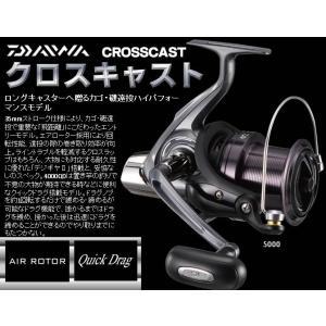 ※17 ダイワ クロスキャスト 4000QD  DAIWA CROSSCAST 4000QD  4960652075985  カゴ 磯遠投リール|kabu-kazumi
