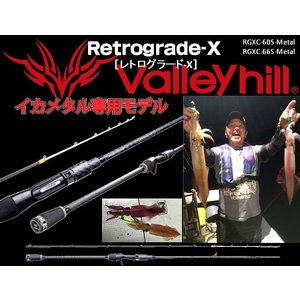 ※バレーヒル レトログラード-X RGXC-66S-Metal  valley hill Retrograde-X 4996578207582 イカメタル専用モデル kabu-kazumi