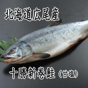 新巻鮭 4.0kg前後特々大サイズ 北海道 十勝 広尾産 送料無料|kabusui