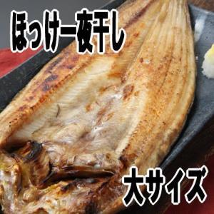 真ほっけ一夜干し 北海道産干物 大サイズ 北海道加工一夜干し|kabusui