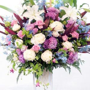 このスタンド花の配達可能エリアは、東京11区(渋谷区、新宿区、港区、千代田区、中央区、中野区、豊島区...
