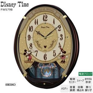 ◆ディズニー Disney FW579B セイコー SEIKO ミッキー ミニー メロディ 電波 時...