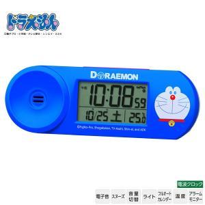 ◆ドラえもん CQ614L セイコークロック 電波クロック デジタル 温度 スヌーズ ライト カレン...
