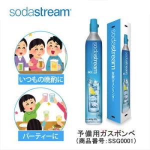 ソーダストリーム 予備用ガス(1本) SSG0001 Soda Stream ガスボンベ / ガスシ...