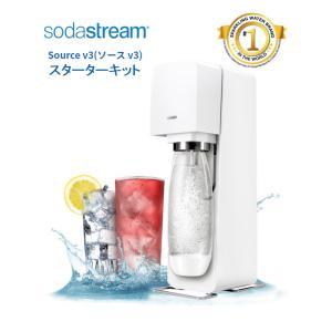 ソーダストリーム ソースV3 SSM1062 ホワイト Soda Stream Source V3 ...