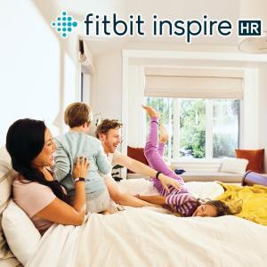 スマートウォッチ フィットビット Fitbit Inspire HR FB413LVLV-FRCJK アンドロイド対応 iPhone対応 防水 活動量計 腕時計 レディース ウエアラブル 睡眠計|kadecoco|09