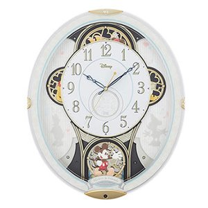 4MN509MC03 リズム時計工業 電波からくり時計 ミッキー&フレンズ M509