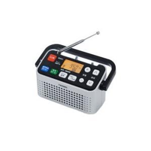 テレビの音声が聴けるラジオ。ワイドFM対応。  ●TV音声/AM/ワイドFMに対応、AM放送をクリア...