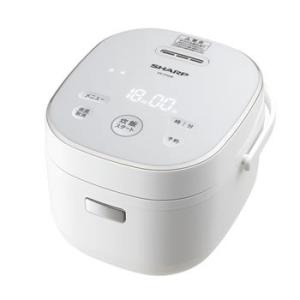 KS-CF05B-W シャープ 3合炊き ジャー炊飯器 ホワイト系