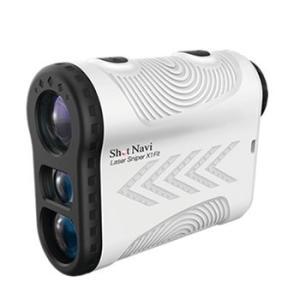 LazerSniperX1Fit-WH ショットナビ レーザー距離計測器 白