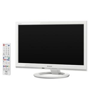 LC-19K40-W シャープ デジタルハイビジョンLED液晶テレビ (ホワイト系)