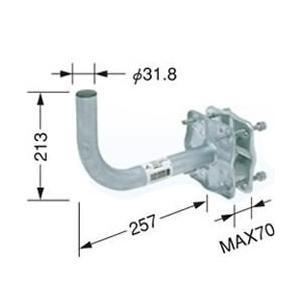 MHV-117 DXアンテナ ベランダ用取付金具