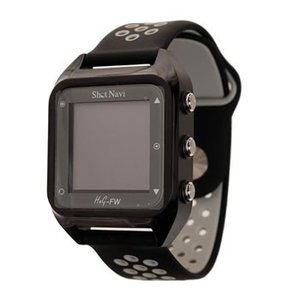 ShotNavi-HuG-FW-BK ショットナビ みちびきL1S対応 GPSゴルフナビ 黒
