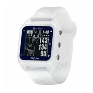 ShotNavi-HuG-FW-WH ショットナビ みちびきL1S対応 GPSゴルフナビ 白