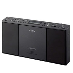 ZS-E30-B ソニー ラジオ CDラジオ・ラジカセ (ブラック)