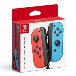 新品 Nintendo Switch スイッチ Joy-Con ジョイコン (L)ネオンレッド/(R...
