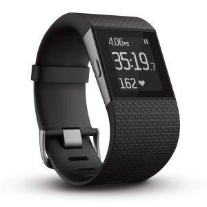 FB501BKL-JPN   Lサイズ フィットビット フィットネス スーパー ウォッチ Surge GPS内蔵 運動 睡眠 健康管理 活動量計 アクティブトラッカー【日本正規品】|kadenfamiliar