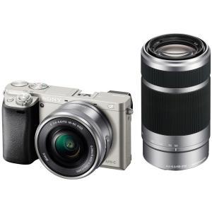 ILCE-6000Y-S(シルバー) ソニー デジタル一眼カメラ「α6000」ダブルズームレンズキット kadenfamiliar