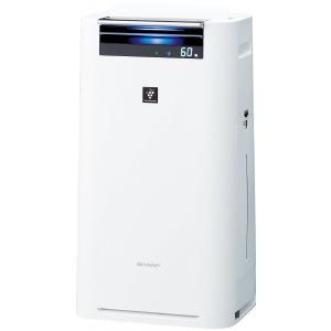 シャープ 加湿空気清浄機 KI-GS70-W(ホワイト系)  PM2.5対応|kadenselect