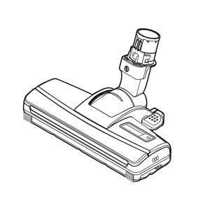 【送料無料】Panasonic 掃除機 MC-JP510G MC-JP520G MC-SJPS520G MC-JP500G MC-JP500GS用 床ノズル AMV85P-J707 パナソニック|kadensentai