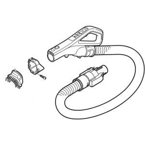 Panasonic 掃除機 MC-SR540G用ホース AMV94P-LZ0V パナソニック|kadensentai