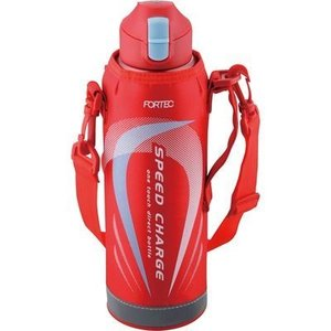 和平フレイズ 4903779709913 フォルテック・スピード ワンタッチ栓ダイレクトボトル 1.0L レッド FSR-7370|kadenya