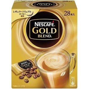 ネスレ日本 4902201419499 ネスカフェ ゴールドブレンド スティック コーヒー 28本入|kadenya
