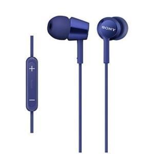 【納期目安:約10営業日】ソニー MDR-EX150IP-LI iPod/iPhone/iPad対応ダイナミック密閉型 インナーイヤーイヤホン (ブルー) (MDREX150IPLI)|kadenya