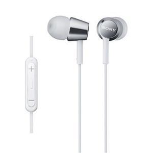 【納期目安:約10営業日】ソニー MDR-EX150IP-W iPod/iPhone/iPad対応ダイナミック密閉型 インナーイヤーイヤホン (ホワイト) (MDREX150IPW)|kadenya