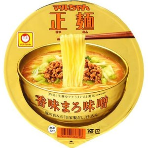 東洋水産 E478662H 【ケース販売】マルちゃん正麺 カップ 香味まろ味噌 121g×12個