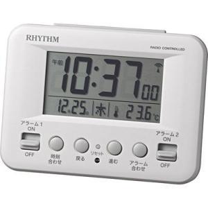 リズム時計 8RZ191SR03 フィットウェーブD191|kadenya