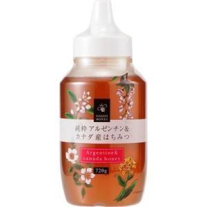 日新蜂蜜 4976173104295 日新蜂蜜 純粋アルゼンチン&カナダ産はちみつ 720g|kadenya