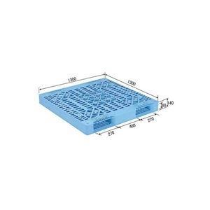 <title>ds-1647516 三甲 サンコー プラスチックパレット プラパレ 両面使用型 リンゴ用パレット 段積み可 R2-1313 早割クーポン ライトブルー 青 ds1647516</title>