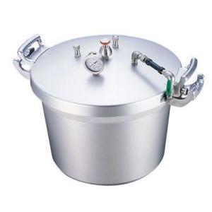 遠藤商事 AAT15040 SAアルミ業務用圧力鍋(第2安全装置付)(40l)