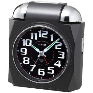 【納期目安:1週間】MAG T-656-BK-Z 大音量目覚まし時計「ベルアタック」 (T656BKZ)|kadenya